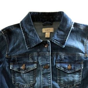 Loft Classic Denim Jacket